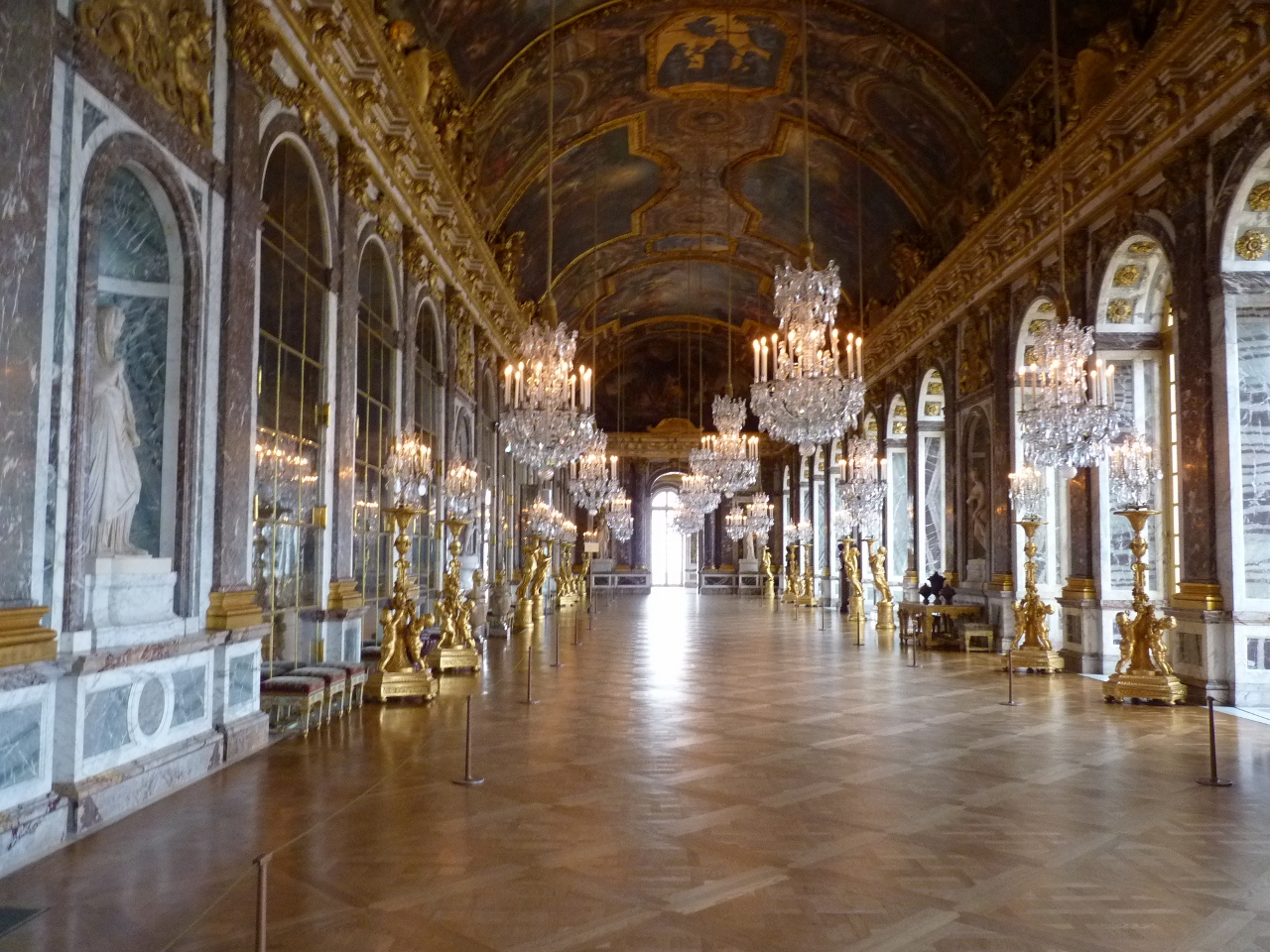 The Hall Of Mirrors Versailles Wilsons Adventures In